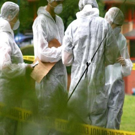 Forensic Cleaning Technicians at work