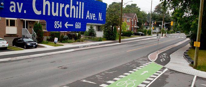 churchill street ottawa - Complete street