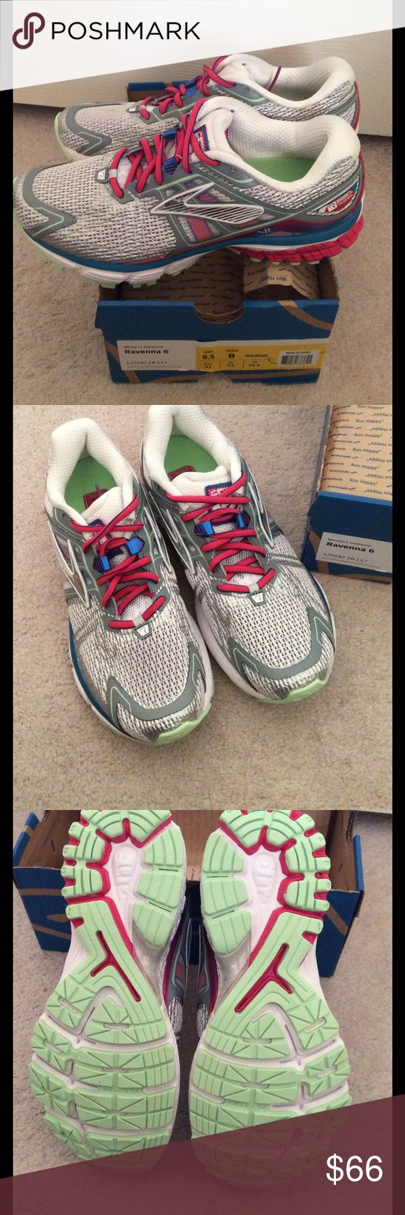 🆕 BROOKS ravenna shoes- women's size 9.5 These are brand new Brooks Ravenna 6 shoes  women's size US 9.5 EU 41 Retails $110  ***PRICE IS FIRM***  A friend purchased these for cross country this season, but haven't worn them. Unfortunately she cut the box top so we can't return, but we will keep them if there are no takers at this price!   NO OFFERS or NEGOTIATIONS please!  Thank you for understanding  :)   I also have other NEW shoes listed interested- please see my other listings :) Brooks…