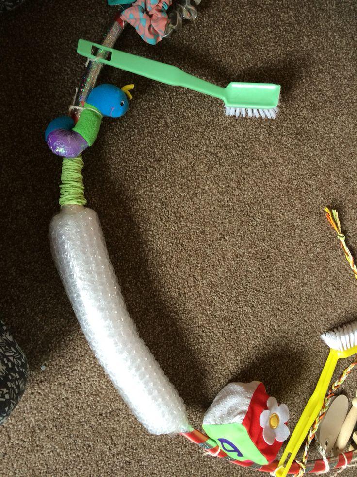 Sensory hoop baby