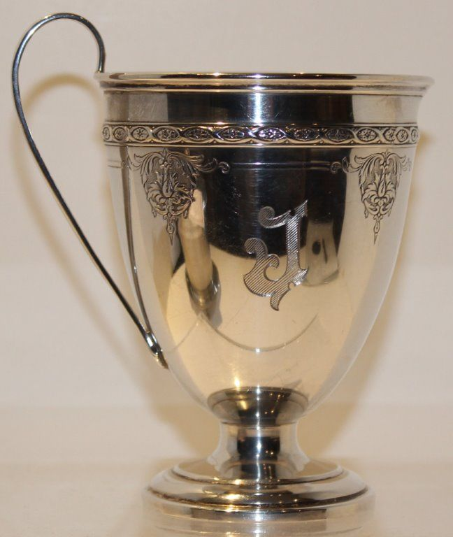 STERLING SILVER LOUIS Xl  V CREAMER BY TOWLE SILVERSMITHS