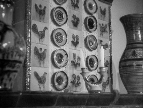Łysa Góra, ceramika