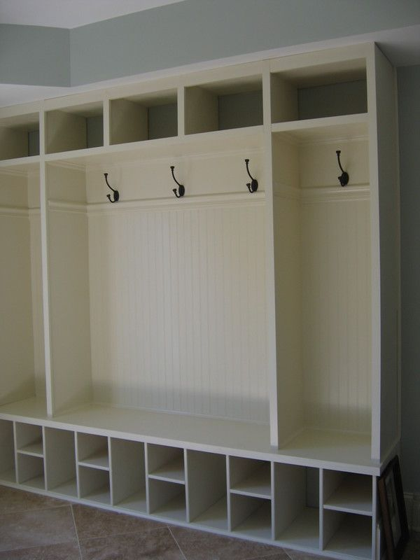 Mudroom Ideas with Some Themes and Concept: Elegant White Color Mudroom Ideas Furniture Design Ideas ~ dickoatts.com Storage House Designs Inspiration