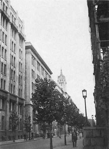 昭和15年、東京日本橋・三越本店。