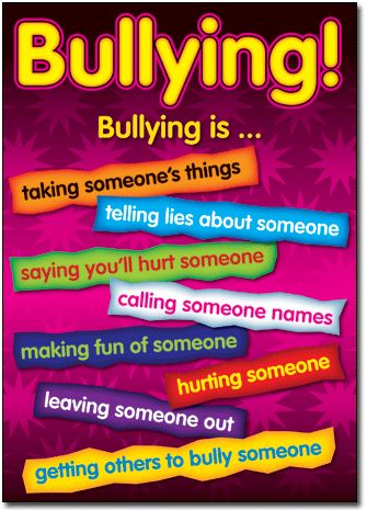 Bullying in schools happens more often than we would like to admit.  Having staff who are vigilant will help to make a difference and promote positive behaviour in the setting and also ensure that children continue to learn in a healthy environment.  By Karen Khilna Dona