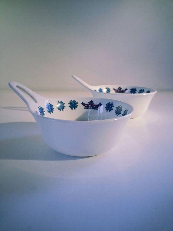 Vintage Figgjo Flint Turi Design Noway Menu Soup Bowl..