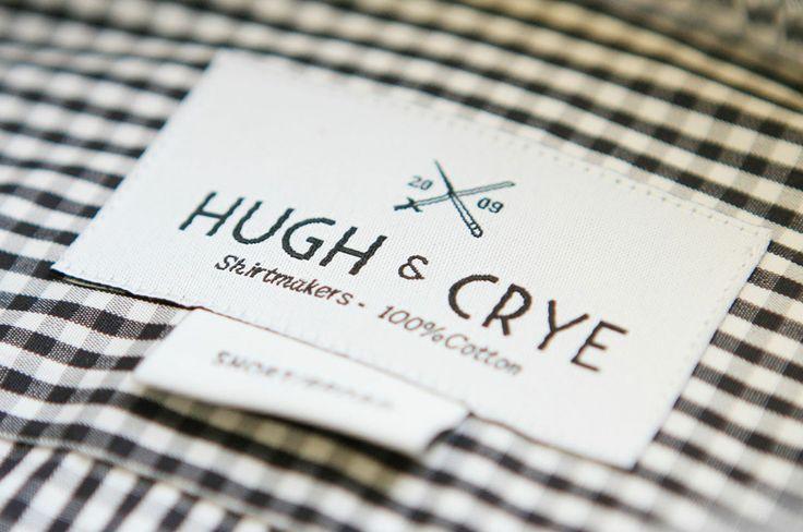 Hugh & Crye neck label
