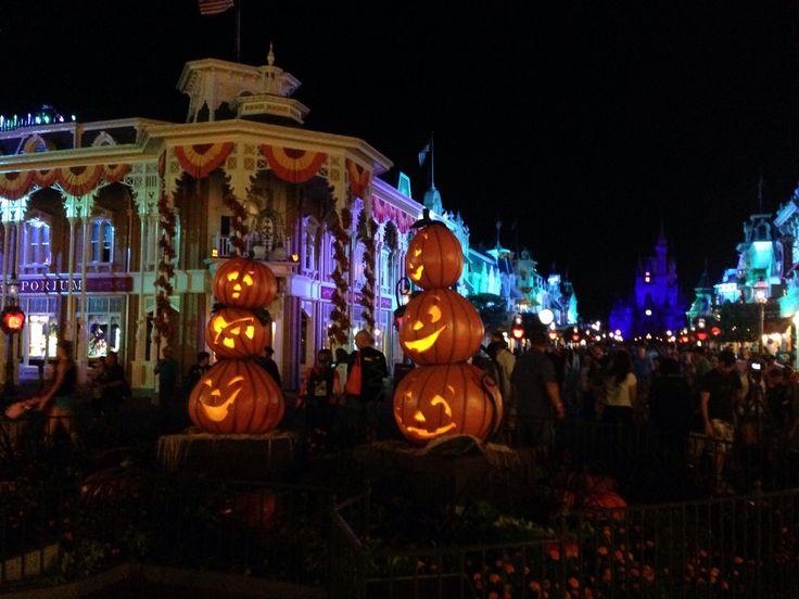 Halloween in the Magic Kingdom! | Pixie and Pirate Destinations | Pin
