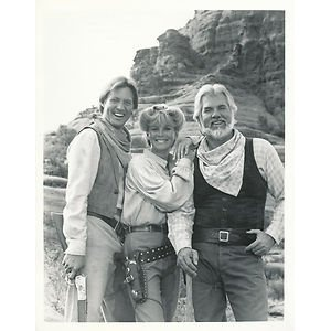 THE GAMBLER (CBS-TV) - Mini-Series starring Kenny Rogers & Bruce Boxleitner with special guest Linda Evans.