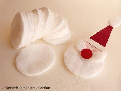 Anche un dischetto struccante può trasformarsi in qualcosa di originale.   Un dischetto tondo di cotone può diventare una soffice barba d...