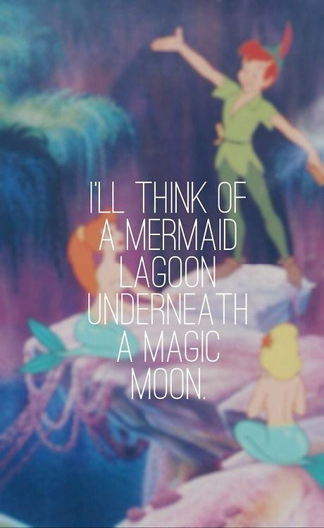 mermaid lagoon - Peter Pan, 1953 - ...Always gonna be my favorite. ♥ #waltdisney #jamesmatthewbarrie #fanart