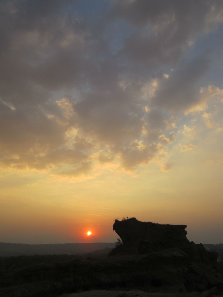#sunset from Brown #Canyon, Semarang, Indonesia