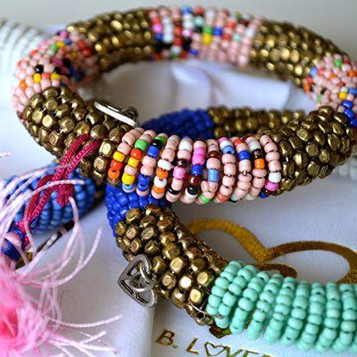 bloved, b.loved, b-loved, mode, fashion, bracelet, armband, armbanden, multi, stones, stenen, ibiza, look, style