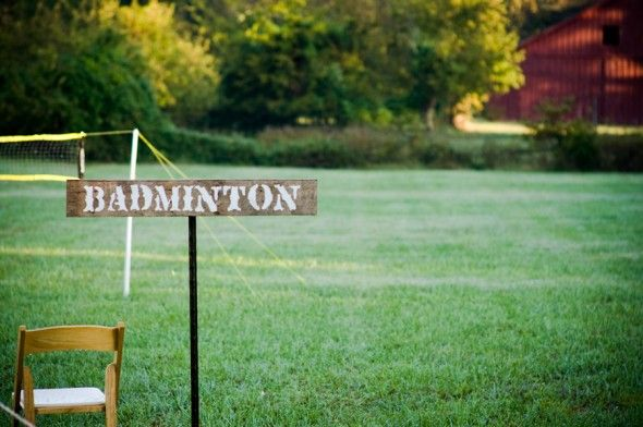 Wood Signs For Backyard Games