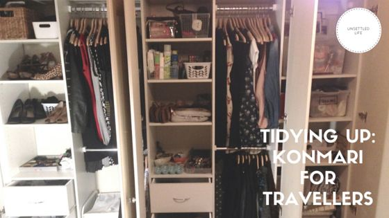 Konmari for travellers: how The Life-Changing Magic of Tidying Up made it easier, cheaper and more fun for me to travel.