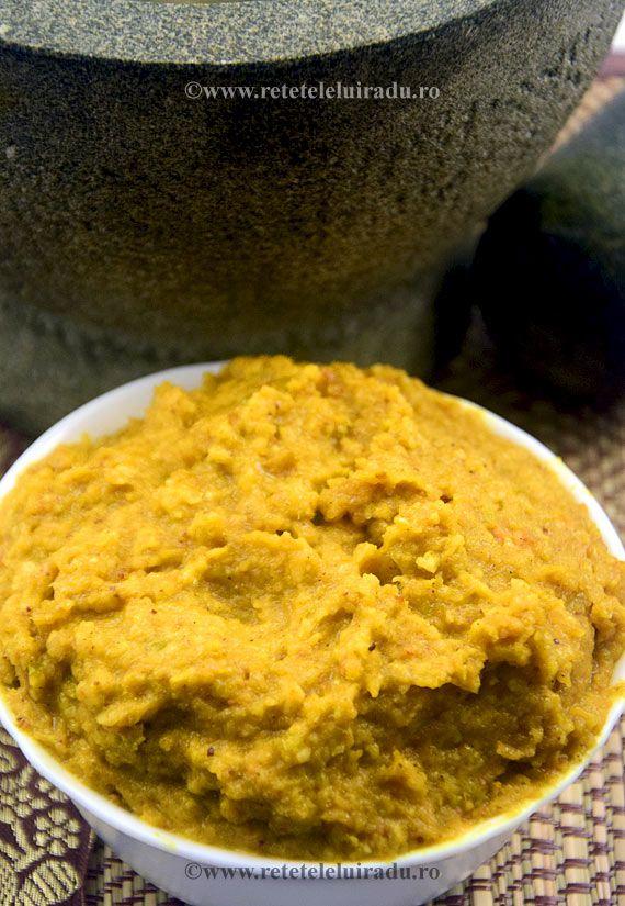 Bumbu Dasar Kuning - Yellow Bumbu (seasoning paste for yellow coloured curries)