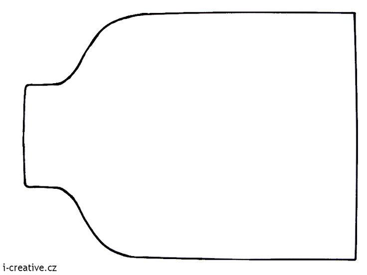 zavařovací sklenice - šablona