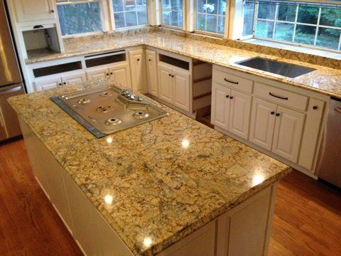 madura granite gold yellow prefabricated countertop countertops products