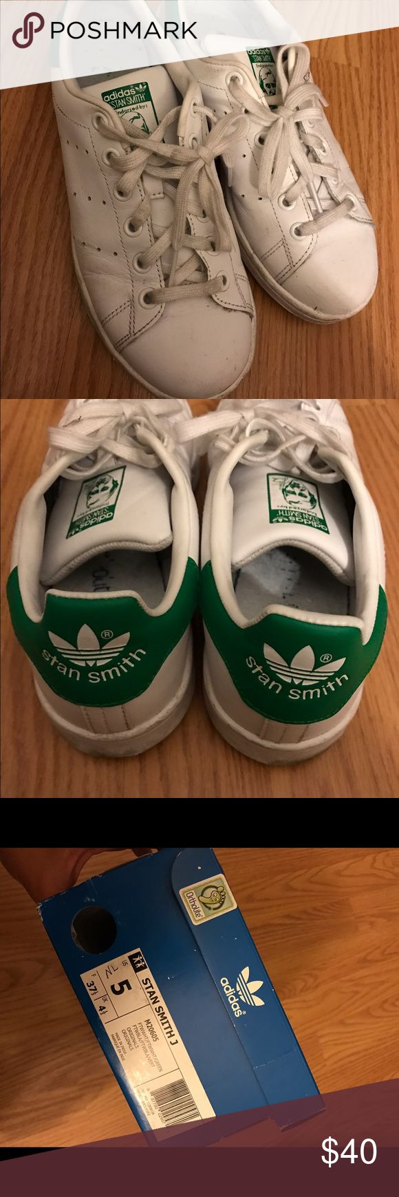 Adidas Stan Smith Original Adidas Stan Smith, worn but in good condition. Price is firm, no trades. Adidas Shoes Sneakers