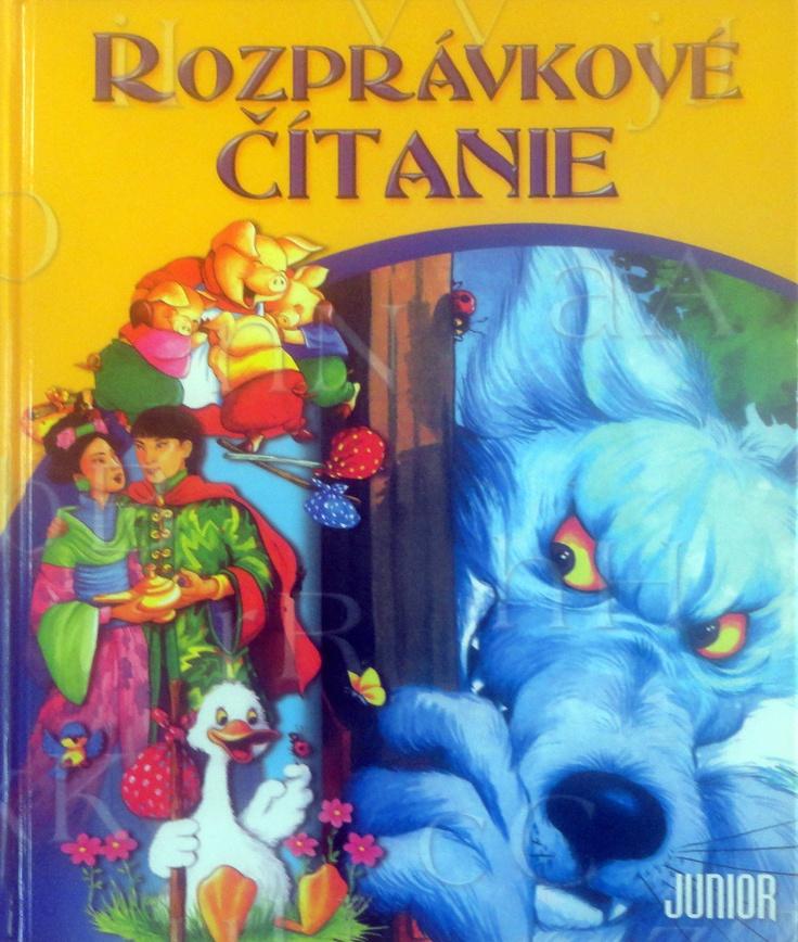 Damián's favourite book Rozprávkové čítanie.