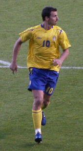 Zlatan Ibrahimović is a Swedish professional footballer and captain for the Swedish national team.