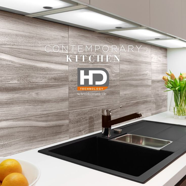 Use a large format marble effect tile from the British Ceramic Tile HD Technology Chameleon range to complement and enhance any contemporary kitchen.