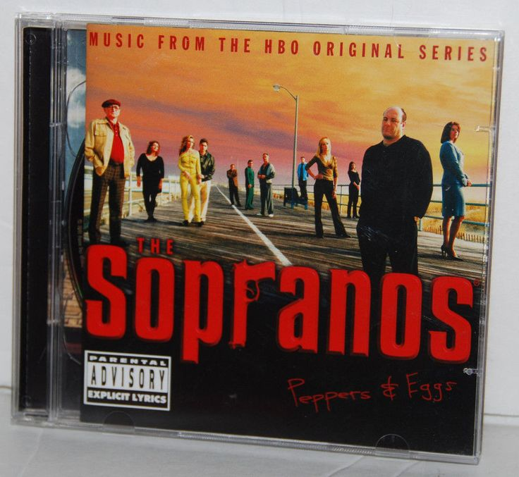 The Sopranos Peppers & Eggs 2 CD Set Music HBO Original Series #Soundtrack