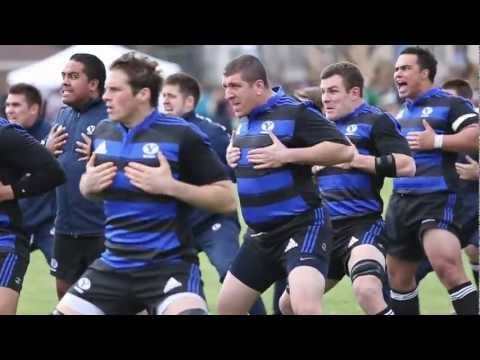 BYU RUGBY HAKA - VERY COOL, VERY UNIQUE - YouTube ... A BYU Rugby original HAKA. This HAKA was performed just prior to BYU Rugby's Champions Challenge match with NYAC at South Field on BYU's Campus in Provo, Utah.