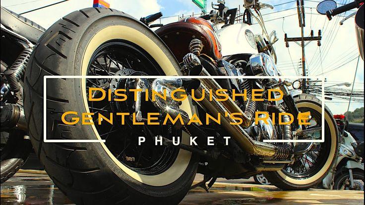 The Distinguished Gentleman's Ride. Phuket. 25.09.2016