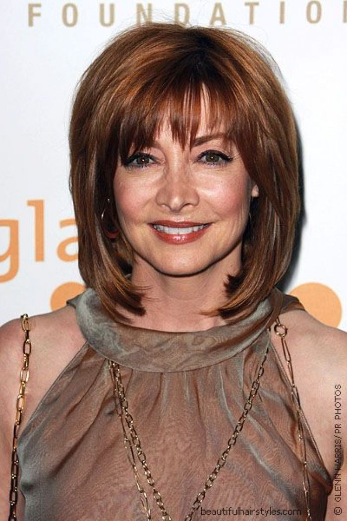 Best Haircuts For Fine Hair With Bangs : 189 best hairstyles for heart shaped face women over 50 images on