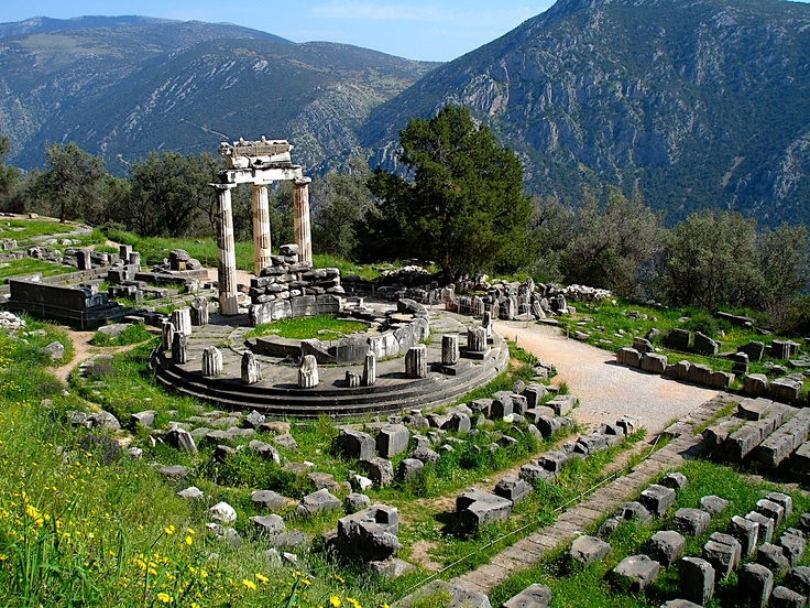 Delphi, Greece: Travel Bucketlist, Buckets Lists, God Apollo, 2015, Awesome Architecture, Greece Travel, Delphi Theatre, Famous Places, Delphi Greece