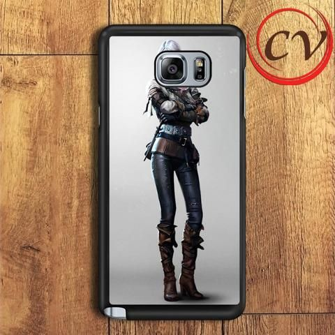 The Witcher 3 Game Samsung Galaxy Note 5 Case