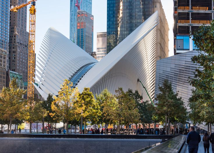 New Yorku0027s Long Delayed World Trade Center Transportation Hub, Designed By  Spanish Architect Santiago Calatrava, Has Encountered A New Problem: A  Leaky ...