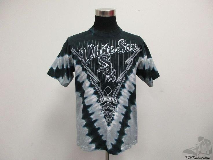 Lee Sport Chicago White Sox Short Sleeve Crewneck t Shirt sz L Large Thomas MLB #LeeSport #ChicagoWhiteSox