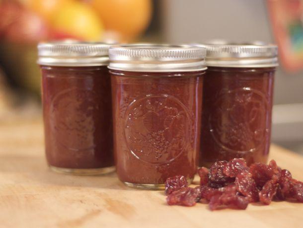 Dried Cherry Butter from Serious Eats. http://punchfork.com/recipe/Dried-Cherry-Butter-Serious-Eats (chocolate fruit tart)