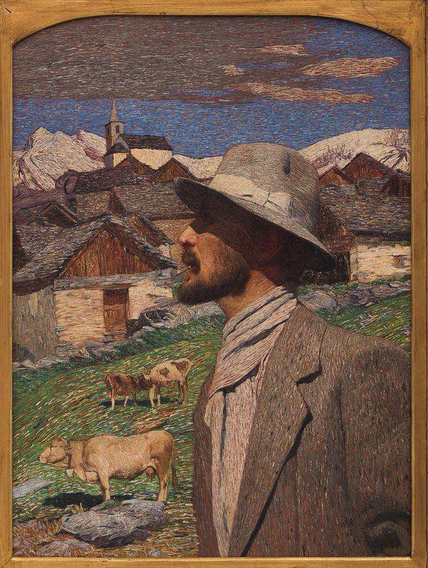 ✔️ Carlo Fornara : autoritratto (1916)