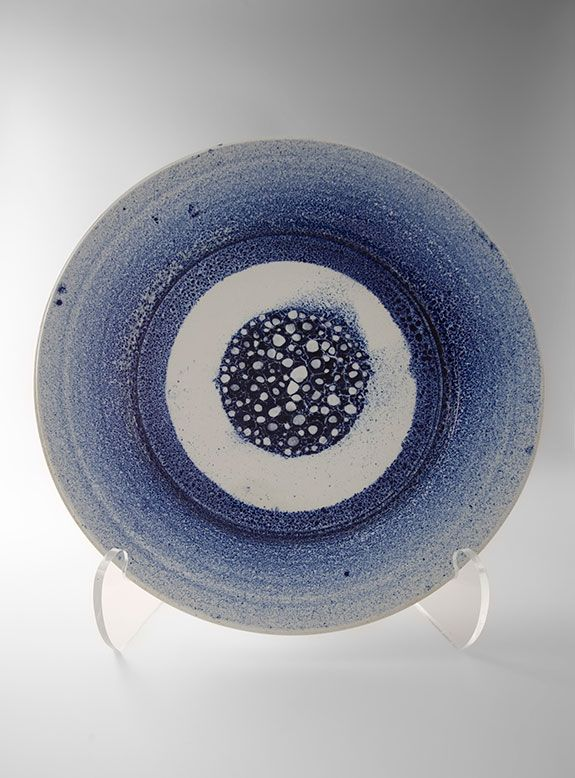 Brother Thomas Large Decorative Plate blue and white glaze porcelain 2.5 x & 67 best Pottery-Insp-Plates and Platters images on Pinterest ...