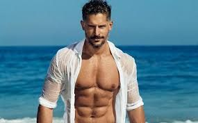 Juju - big, sweet, kind, and seriously hot - and of course, he looks exactly like Joe Manganiello.