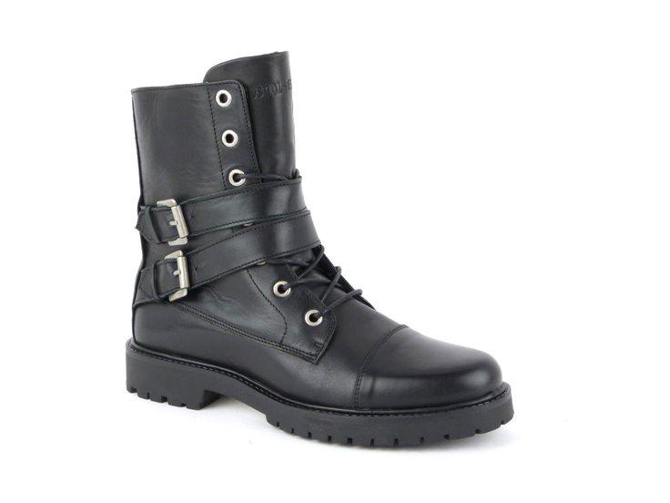Shoecolate.nl – Those shoes! Black Biker Boot Straps