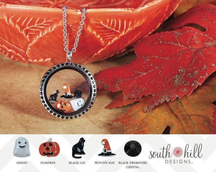 The little ghost and pumpkin are absolutely adorable! Check out more at: www.southhilldesigns.com/atriest