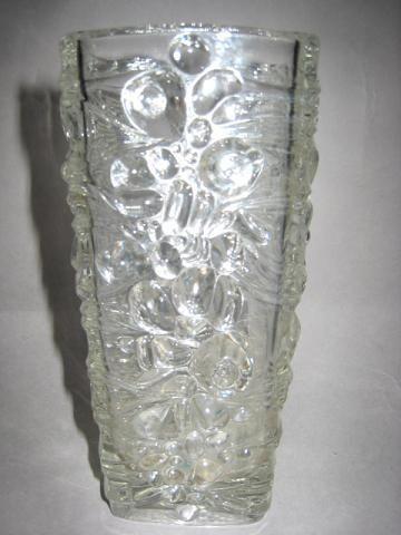 Vase by designer Frantisek Peceny 1971 Lila