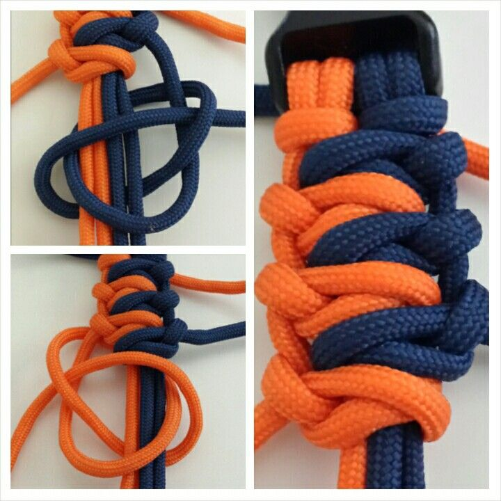 #paracordial #paracord #bracelet - (im quite fond of all thre  of these)