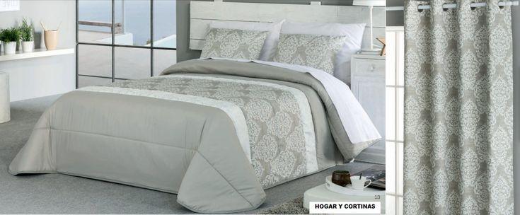 colchas con cortinas confeccionadas #colchas #cortinas #confección #valencia #navarrovalera #ropadecama