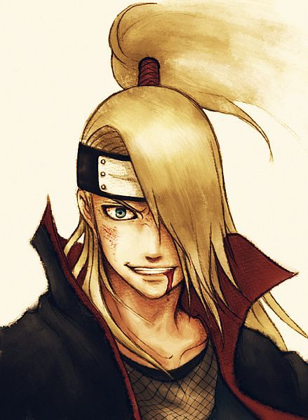 Dude, I know he's from Naruto, but hey, the smile is perfect!!! (Not to mention the long blonde hair<3)