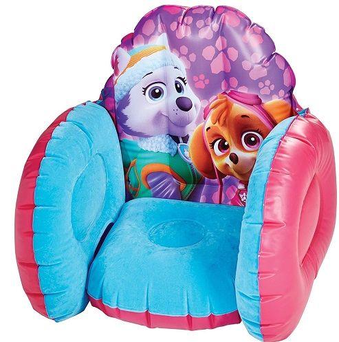 SILLON PAW PATROL SKYE INFLABLE - 281PWP, IndalChess.com Tienda de juguetes online y juegos de jardin