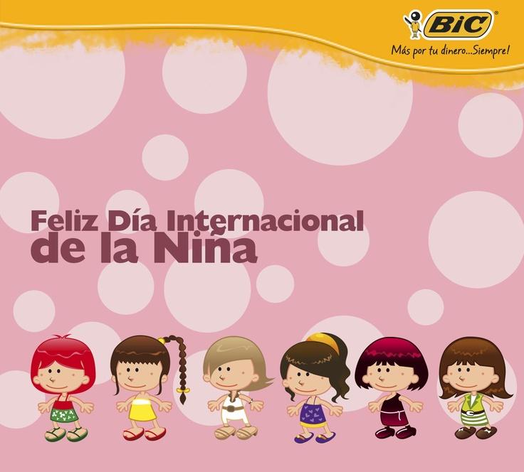 Feliz Día Internacional de la Niña