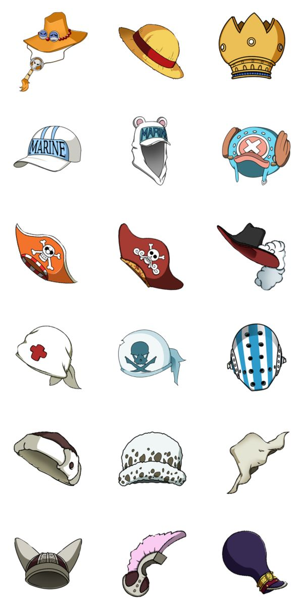 One Piece Hats