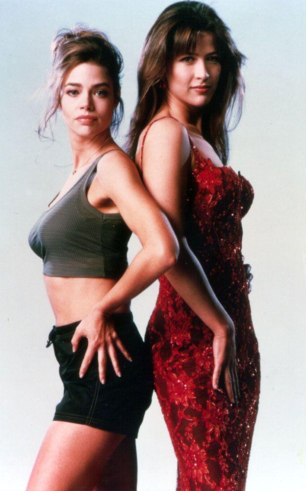 """The World Is Not Enough"" BondGirls - Sophie Marceau as Elektra King &Denise Richards as Dr. Christmas Jones"