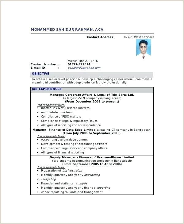 Fresher Accountant Cv Format Resume Format In Word Accountant Resume Accountant Cv