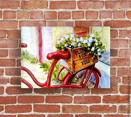 Купить или заказать картина 'Цветы для тебя' в интернет-магазине на Ярмарке Мастеров. Романтическая картина 'Цветы для тебя' написана для самой прекрасной... Она написана для тебя :) Доставка бесплатна. Дополнительная услуга: быстрое оформление картин в рамы, избавляющая вас от хлопот по поиску багетной мастерской и потери времени. Все картины аккуратно упакованы в прозрачный целлофан и надежные картонные коробки, Скидки. предоставляются при покупке 3-х и более картин.
